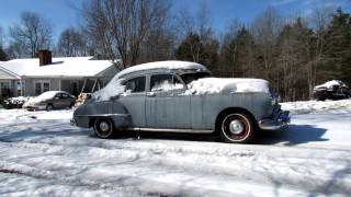 getlinkyoutube.com-50 Oldsmobile-Burnout-Snow