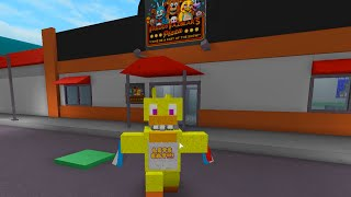ROBLOX FIVE NIGHTS AT FREDDY'S ANIMATRONIC WORLD | FNAF ROLEPLAY | RADIOJH GAMES