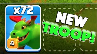 getlinkyoutube.com-x72 NEW BABY DRAGONS! - Clash of Clans - New Update Baby Dragon Raids!