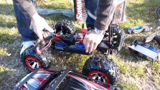 2013 Traxxas Summit LiPo with TQi unboxing LAGUNA VERDE Balotesti ROMANIA new