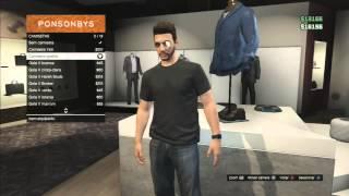 getlinkyoutube.com-GTA V Online #13 - Explorando o modo online! Comprando Armas, Roupas e mais!  GTA V - 5 (PS3)