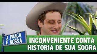 getlinkyoutube.com-A Praça é Nossa (19/05/16) - Inconveniente conta história de sua sogra