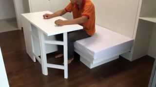 getlinkyoutube.com-HWB Hidden Table. ARC @TAMPINES EC.Rm3+ Multi-Purpose Bench/Sofa/CoffeeTable/Kid's Dining &PlayTable