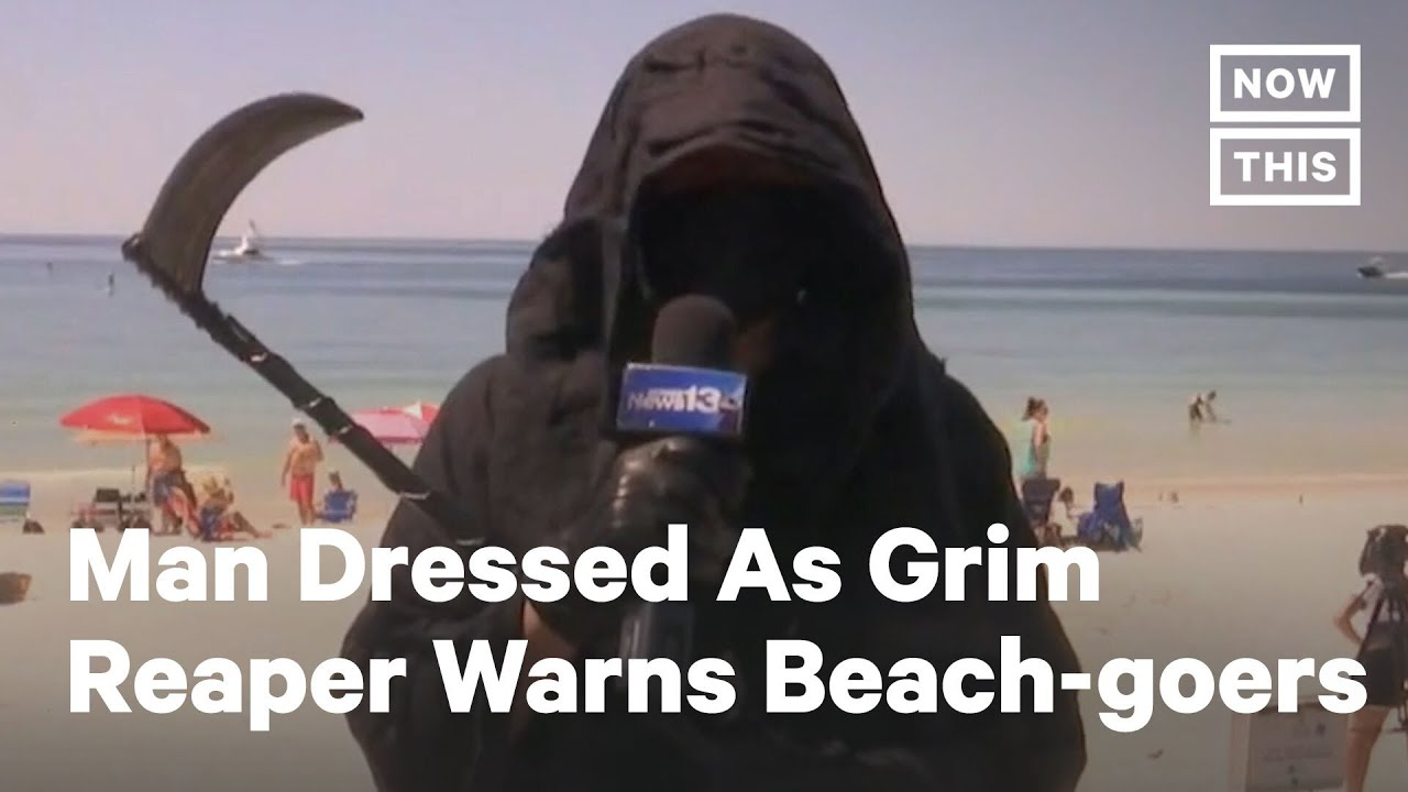 The Grim Reaper Gets His Surf On