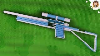 getlinkyoutube.com-Como fazer uma Arma de Papel - (Sniper Rifle)