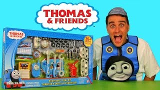 getlinkyoutube.com-Thomas & Friends Engineer Tool Kit Gift Set ! || Toy Reviews || Konas2002