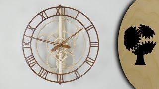 getlinkyoutube.com-Magica - Wooden Clock (Holzuhr)