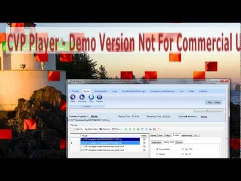 CVP Player New Version - Power CG Templates with Flash Alpha Layers