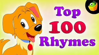 getlinkyoutube.com-Top 100 Hit Songs - English Nursery Rhymes - Collection Of Animated Rhymes For Kids