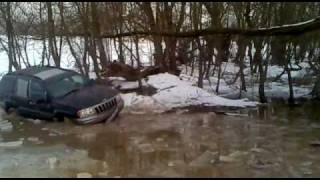 getlinkyoutube.com-Jeep Grand Cherokee 4.7 V8 offroad