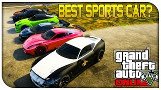 GTA 5 Online - BEST SPORTS CAR? (Furore GT vs Massacro vs Jester vs Elegy) [GTA V]
