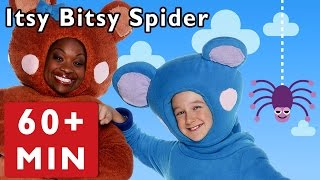 getlinkyoutube.com-Itsy Bitsy Spider and More | Nursery Rhymes from Mother Goose Club!