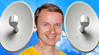Как сделать БЕСПРОВОДНОЙ Wi-Fi МОСТ и передать интернет на десятки километров