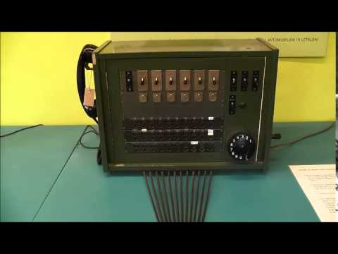 Manual telephone exchange
