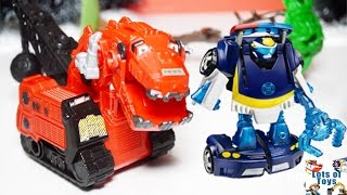 getlinkyoutube.com-Chase the Police Bot, Blaze and the Monster Machines Play Doh Adventures, Stories Compilation