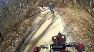 getlinkyoutube.com-Royal Blue Dirt Bike ride