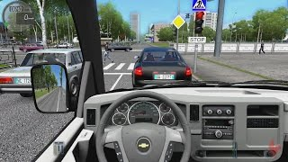 getlinkyoutube.com-City Car Driving - Chevrolet Express FedEx