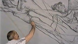 getlinkyoutube.com-Mural del Altar de Don Bosco (Alcoy) por el pintor Ramón Castañer