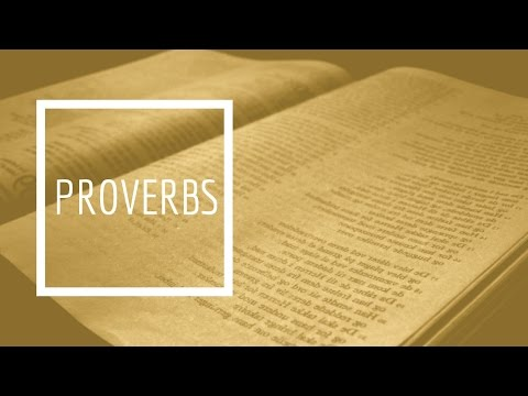 (7) Proverbs - Chapter 7