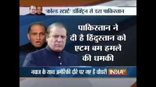 Pakistan Threatens of Using Atomic Bomb against India - India TV