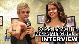 "getlinkyoutube.com-Ross Lynch & Maia Mitchell Talk ""Teen Beach Movie"" Sequel, Tell Jokes & More"
