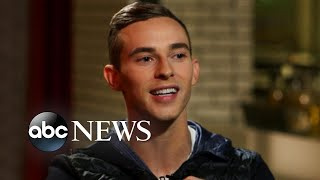 Olympic skater Adam Rippon on becoming a voice for the LGBTQ community