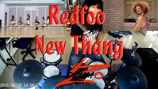 getlinkyoutube.com-Redfoo - New Thang(Electric Drum cover by Neung)