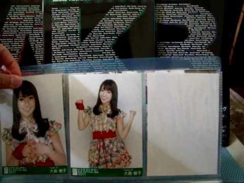 AKB48生写真トレード開封動画