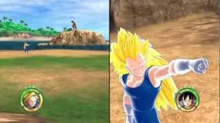 getlinkyoutube.com-Dragonball Raging Blast 2 Mod: Super Saiyan 3 Vegeta and Goku Fusion