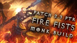 """getlinkyoutube.com-2.3 Monk Build """"Fists of Fire"""" - Diablo 3 Reaper of Souls PTR"""