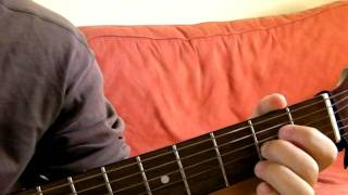 A7sus4 Guitar Chord Demonstration