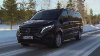 getlinkyoutube.com-Mercedes-Benz Vito 4x4 119 BlueTEC Tourer PRO - Driving Scenes