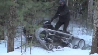 getlinkyoutube.com-Вездеход-танкетка. На зиму то что нужно для наших дорог