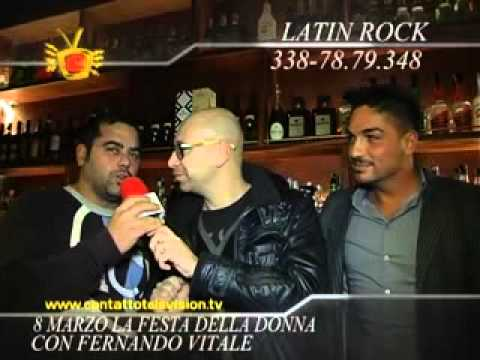 LATIN ROCK CONTATTO TELEVISION 07/02/2013
