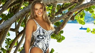 getlinkyoutube.com-Ronda Rousey Gets Naked for Sports Illustrated Swimsuit 2016 Cover