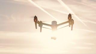 Inspire 1 V2.0 - Profi-Drohne von DJI im Testflug