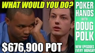Is Tom Dwan Really Bluffing Phil Ivey Here?