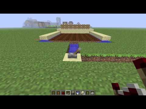 Minecraft Automatic Wheat Farm Tutorial!