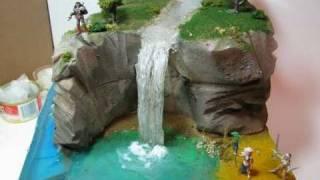 getlinkyoutube.com-Make A Diorama Waterfall