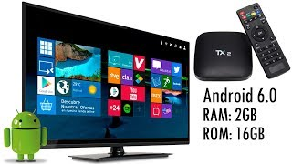 TV BOX BARATA - Tanix TX2-R2 Review - Convierte tu TV en SmartTV Android
