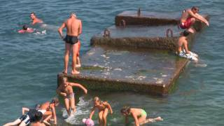getlinkyoutube.com-Russia,Crimea,Yalta, Massandra beach