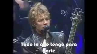 Bon Jovi - Thank You For Loving Me - (Subtitulado)