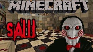 getlinkyoutube.com-SAW SawCraft El Juego Macabro Minecraft Mapa de Aventuras