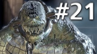 getlinkyoutube.com-Batman Arkham Asylum - Walkthrough - Part 21 - Killer Croc Boss Fight - Road To Batman Arkham Knight