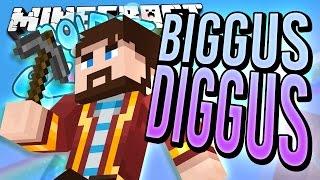 getlinkyoutube.com-Minecraft - BIGGUS DIGGUS - Project Ozone #5