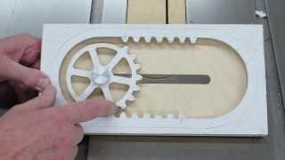 getlinkyoutube.com-Making The Reciprocating Rack & Pinion