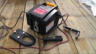 getlinkyoutube.com-Master Lock 2953AT 12-Volt DC Portable Winch