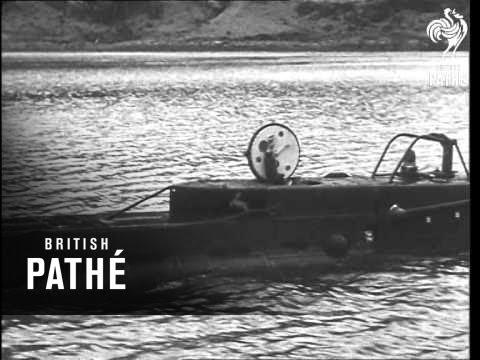 Midget Submarine And Human Torpedo (1943)