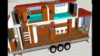Download video The Suite 30 Plus Tiny House on wheels Rockwood