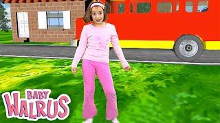 getlinkyoutube.com-Zouzounia feat.Anna Rose & Amanda - The Wheels On The Bus (KARAOKE)